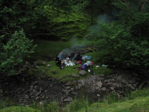 Barbecue in the Brecon Beacons, 1 hour away.