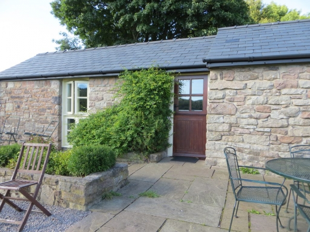 The cottage is a beautifully converted stone stable